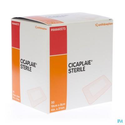 Cicaplaie Verb Steriel 10,0cmx 8cm 50 66660273