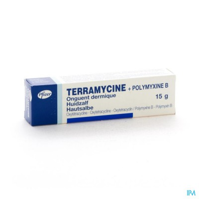 TERRAMYCINE UNG DERM 15 G