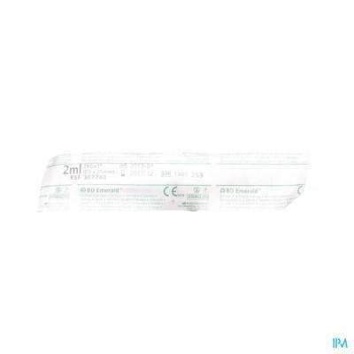 Bd Emerald Spuit 2ml + Naald 23g 1 1 307740
