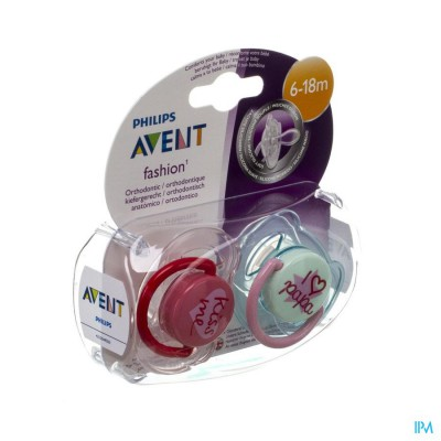 Philips  Avent Fopsp Fashion Dubbel 6-18m 2 SCF172/70