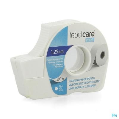 Febelcare Pore Micropor.hechtpleister 12,5mmx9,14m