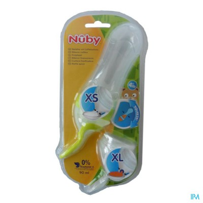 NUBY SQUEEZE FEEDER +3M