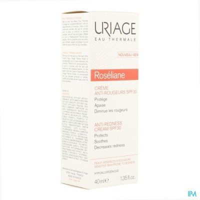 URIAGE ROSELIANE CREME ANTI ROODHEID IP30 40ML