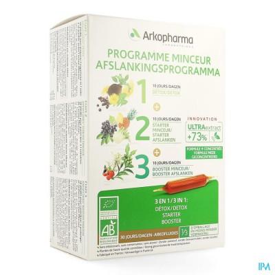 Arkofluide Afslank Programma Nf Amp 30