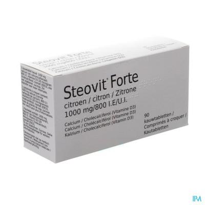 STEOVIT FORTE CITROEN 1000MG/800IE KAUWTABL 90 PIP