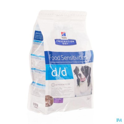 Hills Prescrip.diet Canine Dd Duck&rice 5kg 9118r