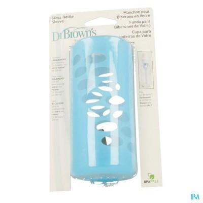 Dr Brown Zuigflesbeschermer Blauw 240ml 1 Escos