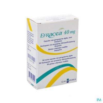 Efracea Caps 56 X 40mg
