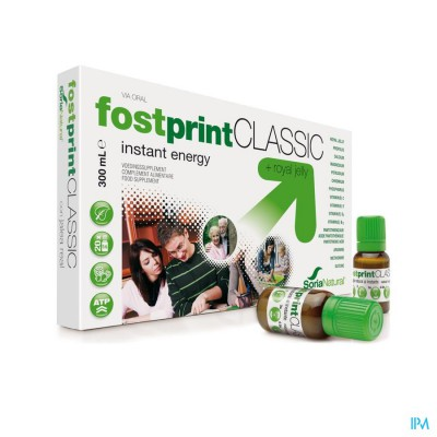 SORIA FOST PRINT CLASSIC DRINKBARE AMP 20X15ML