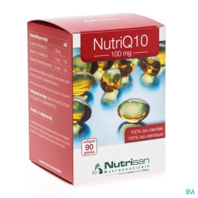 Nutri Q10 100mg Nf 90 Softgels  Nutrisan