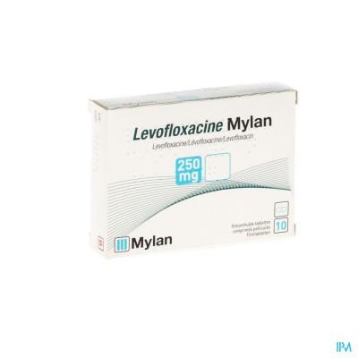 Levofloxacine Mylan Comp 10 X 250mg