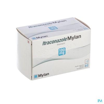 Itraconazole Mylan 100mg Caps 60 X 100mg