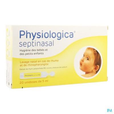 Physiologica Septinasal 0,9% Nacl Opl 20x 5ml