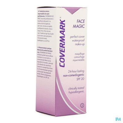 Covermark Face Magic N1 Lichtbeige 30ml
