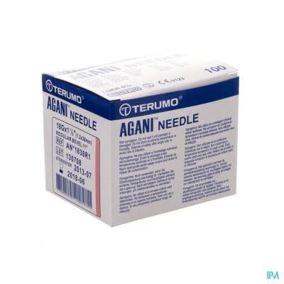 Terumo Naald Agani 18g 1 1/2 Rb Roze 5