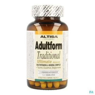 Altisa Adultform Traditional Ultimate Tabl 60