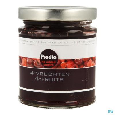 Prodia Broodbeleg Extra 4 Vrucht.215g 5681 Revogan