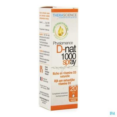 D-nat 1000 Spray 20ml Physiomance Phy303