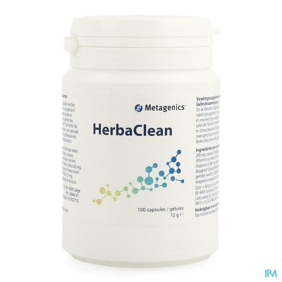 Herbaclean Nf Caps 100 24846 Metagenics