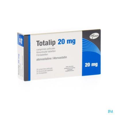 Totalip 20mg Pfizer Filmomh Tabl 30 X 20mg