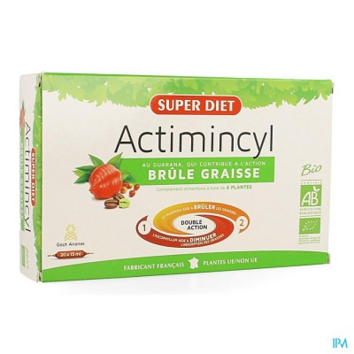 Super Diet Actimincyl Bio Amp 20x15ml