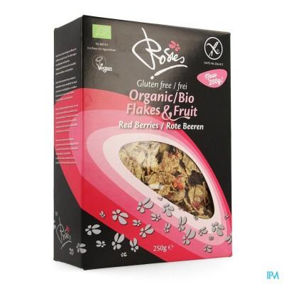 Rosies Flakes Rode Vruchten Bio 250g 4699 Revogan