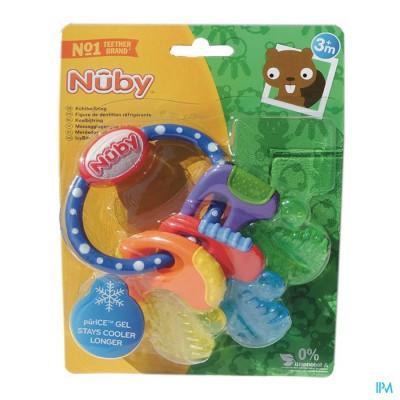 Nûby Koelbijtsleutels - 3m+