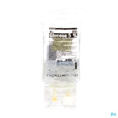 Bx Glucose 5% Viaflo Sac-zak 100ml