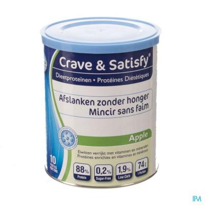 Crave & Satisfy Dieetproteinen Apple Pot 200g