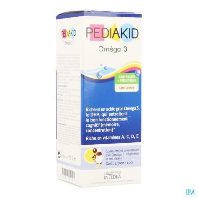 Pediakid Omega-3 Sol Buv Fl 125ml