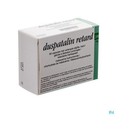DUSPATALIN RETARD 200MG PI PHARMA CAPS DUR 60 PIP