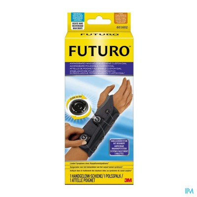 601602dab Futuro Aanpasbare Polsspalk Recht, Custom Dial