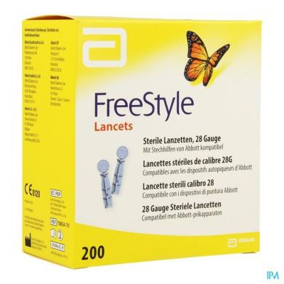 Precision Thin Lancets 28g Steriel 200 7084901