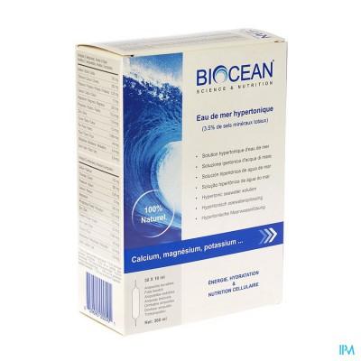 BIOCEAN HYPERTONIC QUINTON AMP 30X10ML