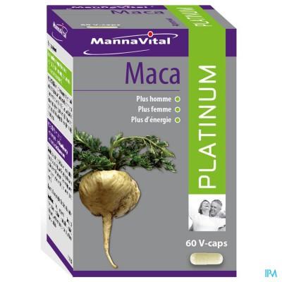 Mannavital Maca Platinum V-caps 60