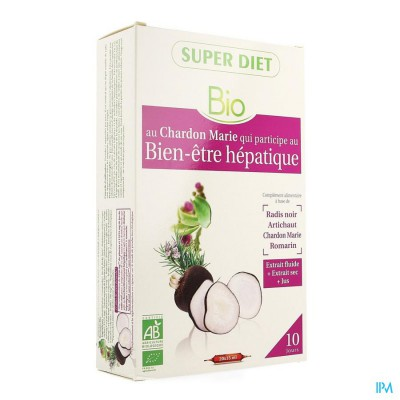 Super Diet Complexe Spijsvertering Bio Amp 20x15ml
