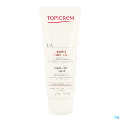 Topicrem Da Balsem Verzachtend Tube 75ml