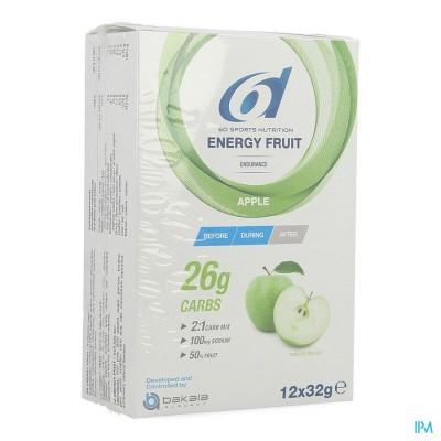 6D SIXD ENERGY FRUIT APPLE 12X32G