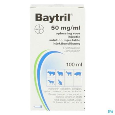 Baytril 5% Opl Inj Fl 100ml
