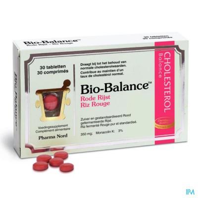 Bio-balance Rode Rijst-riz Rouge Tabl 30