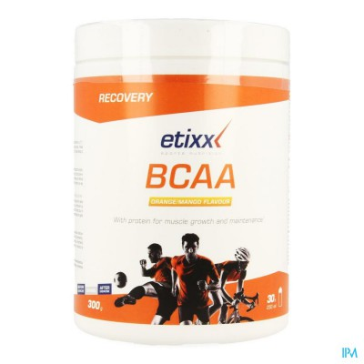 ETIXX BCAA POWDER ORANGE MANGO 300G