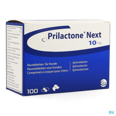 Prilactone Next 10mg Kauwtabl 100