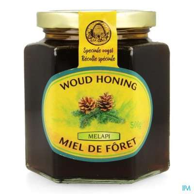 Melapi Honing Woud Vloeibaar 500g Revogan