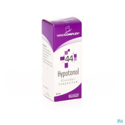 VANOCOMPLEX N44 HYPOTONOL GUTT 50ML UNDA