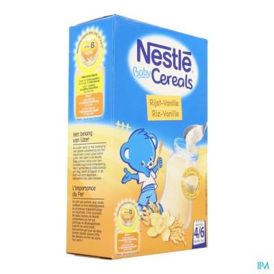 Nestle Baby Cereals Rijst-vanille 500g