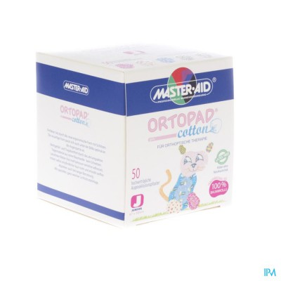 ORTOPAD COTTON JUNIOR GIRLS OOGPLEISTER 50 70161