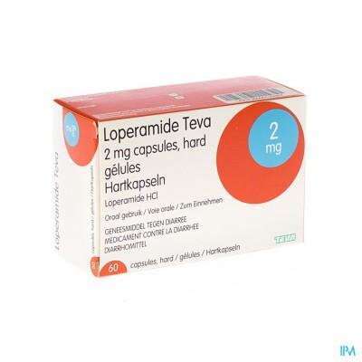 LOPERAMIDE TEVA CAPS 60 X 2 MG
