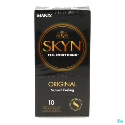 MANIX SKYN ORIGINAL CONDOMEN 10