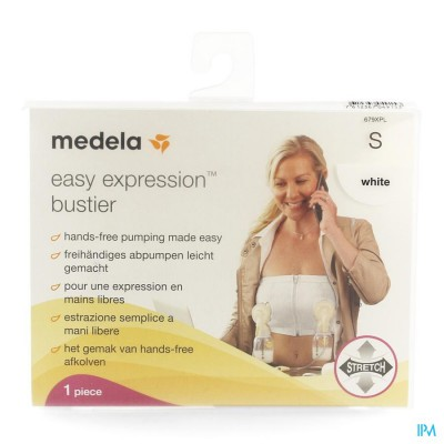 Medela Easy Expression Bustier Wit Small Nf