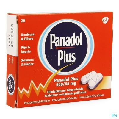 PANADOL PLUS 500MG/65MG FILMOMH TABL 20 NEW